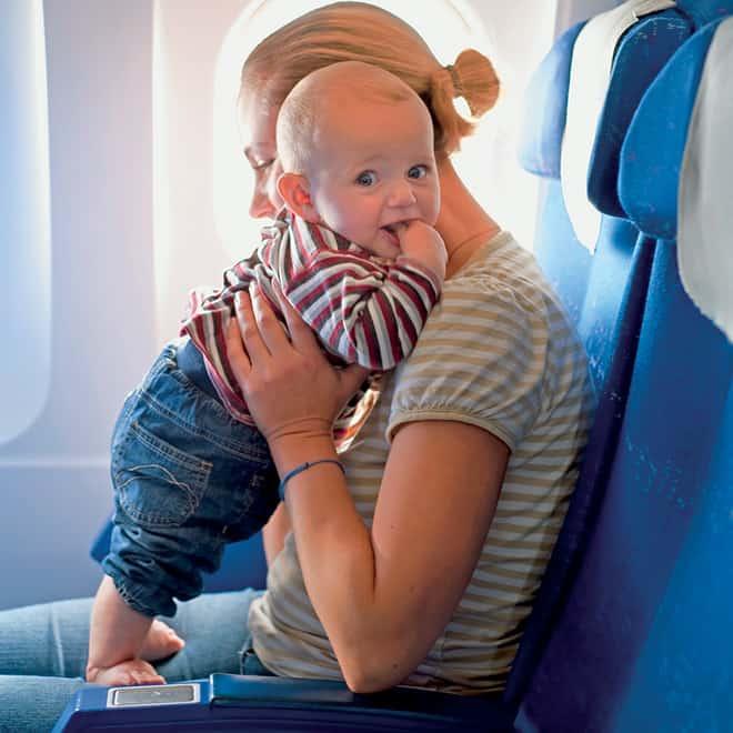 Перелет с ребенком: особенности